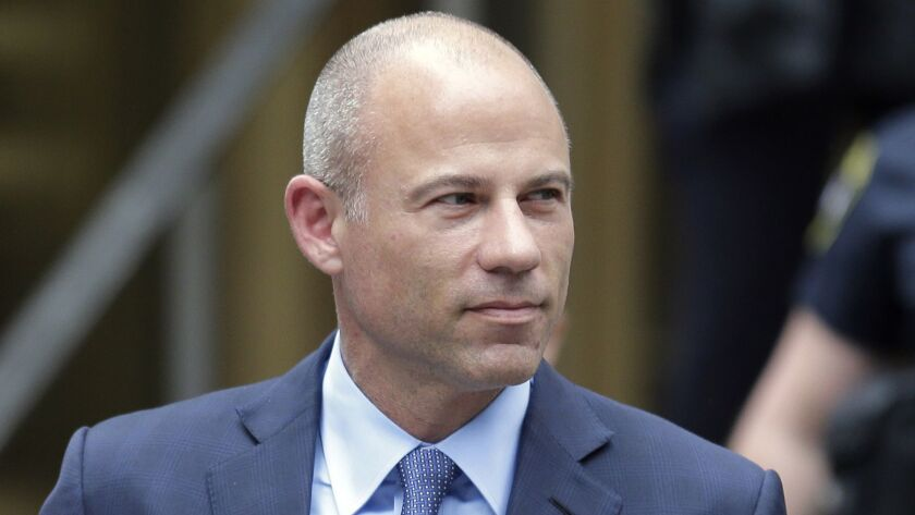 California attorney Michael Avenatti leaves a courthouse in New York following a hearing in May.