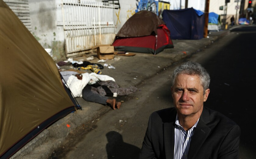 Marc Trotz is the director of Housing for Health, an L.A. County Department of Health Services program to subsidize permanent housing for the homeless people who frequently use county services.