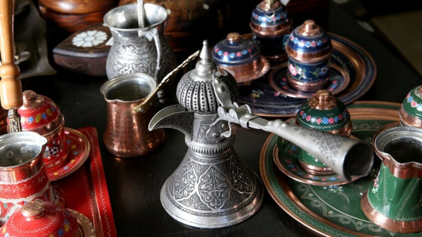 Turkish coffeepots and sets