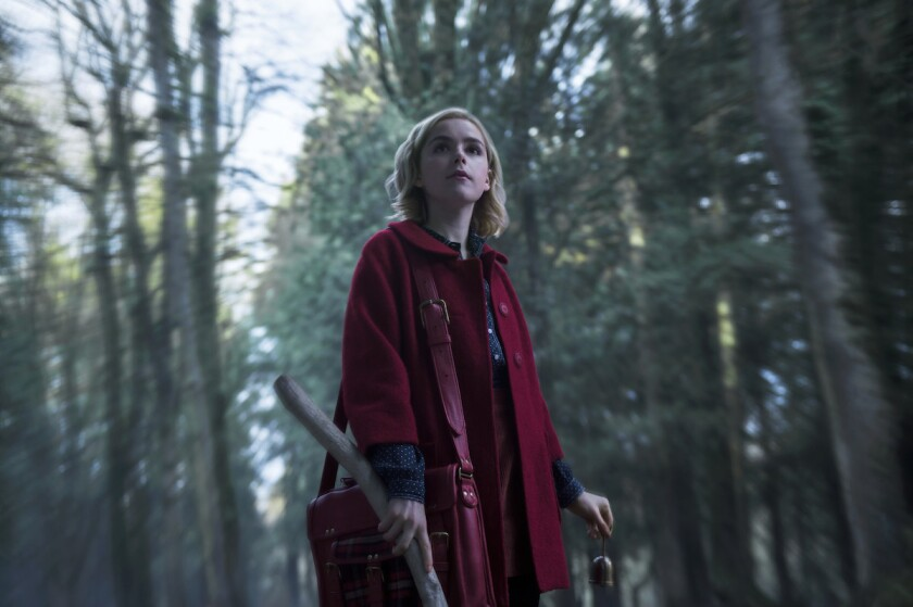 'Chilling Adventures of Sabrina' on Netflix