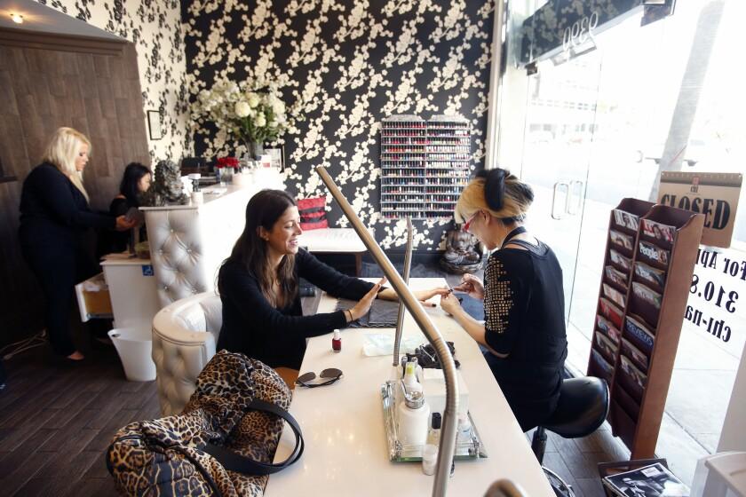 Nails at Chi Nailbar & Organic Spa