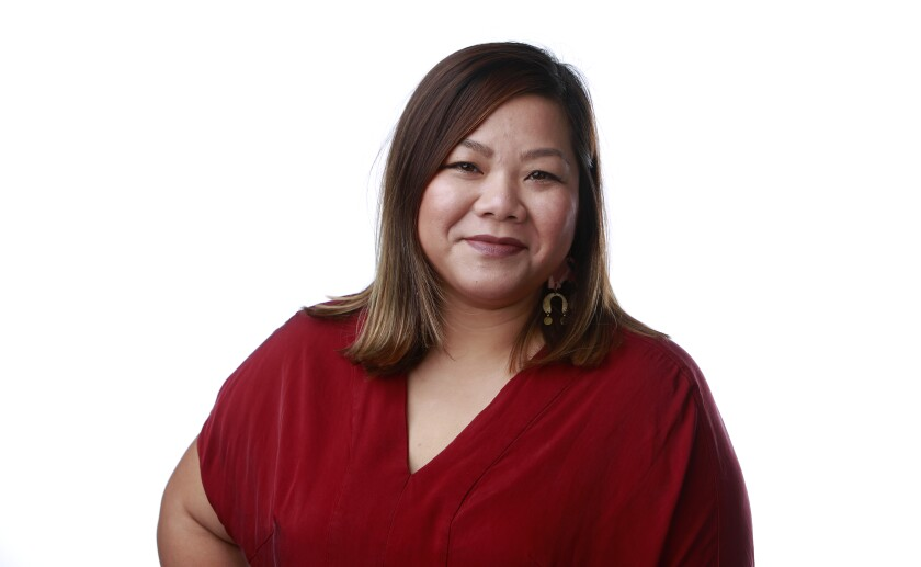 Christy Innouvong-Thornton is deputy director and co-founder of Courageous Kitchen, a food education nonprofit. She's one of 20 chefs participating in the Chew The Scene event on Oct. 10 to kick off the San Diego Asian Film Festival in November.