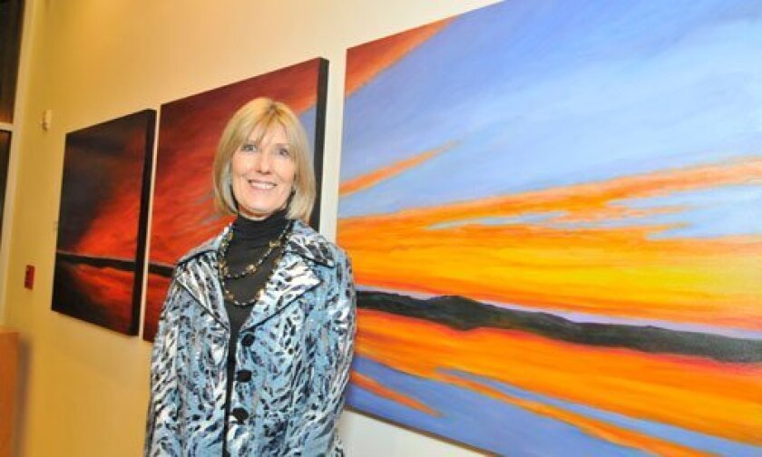 RSF resident and artist, Connie McCoy