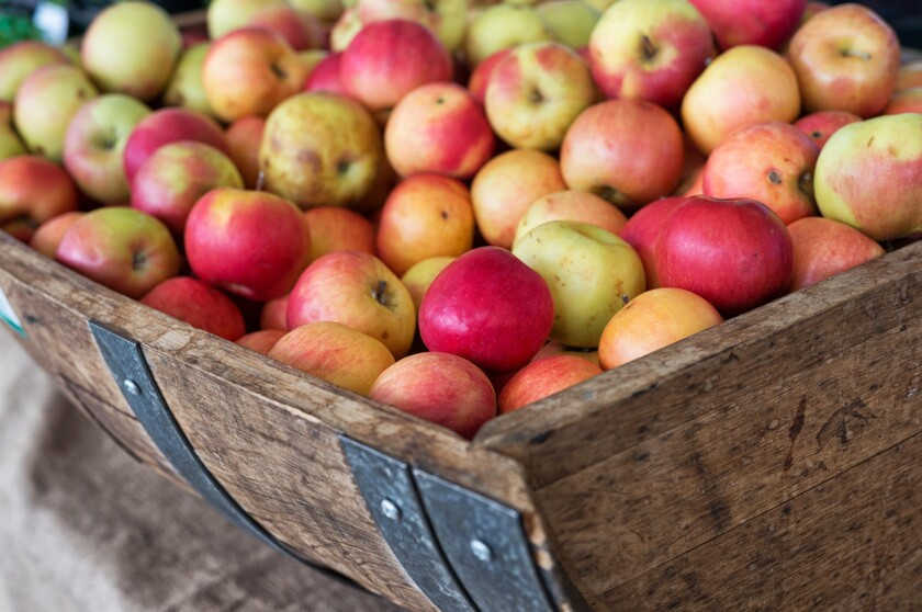 Apples are the star of the show during Julian Apple Days. (iStock)