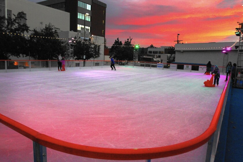 Burbank ice skating rink