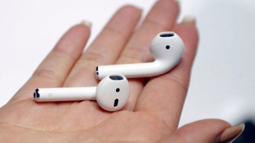 Los Airdrop son unos audífonos inalámbricos que Apple venderá por separado.