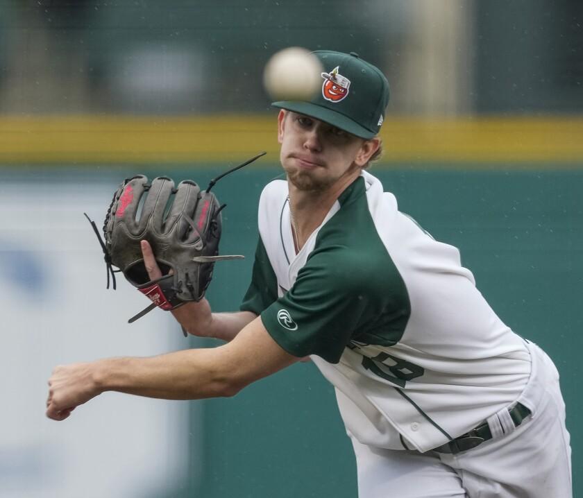Padres pitching prospect Ethan Elliott began 2021 at high Single-A Fort Wayne.