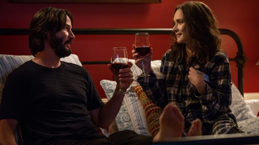 Forced to spend a weekend together, Frank (Keanu Reeves) and Lindsay (Winona Ryder) quickly realize