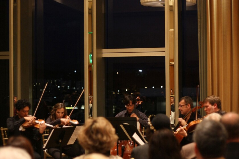 The intimate chamber-music series Le Salon de Musiques returns to the fifth-floor salon at the Dorothy Chandler Pavilion to open its ninth season.