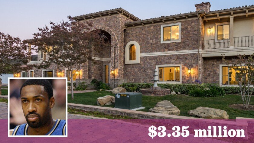 Former NBA All-star Gilbert Arenas has sold his 9,600-square-foot house in Calabasas for $3.35 million.