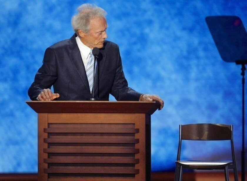 Clint Eastwood didn't exactly make Team Romney's day