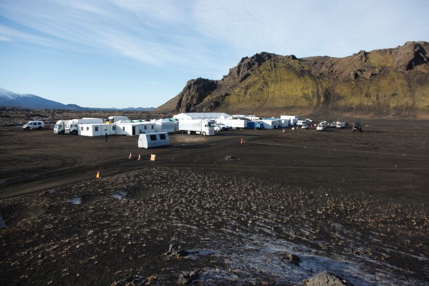 "Base camp for Marvel's ""Thor 2,"" which filmed in Iceland."