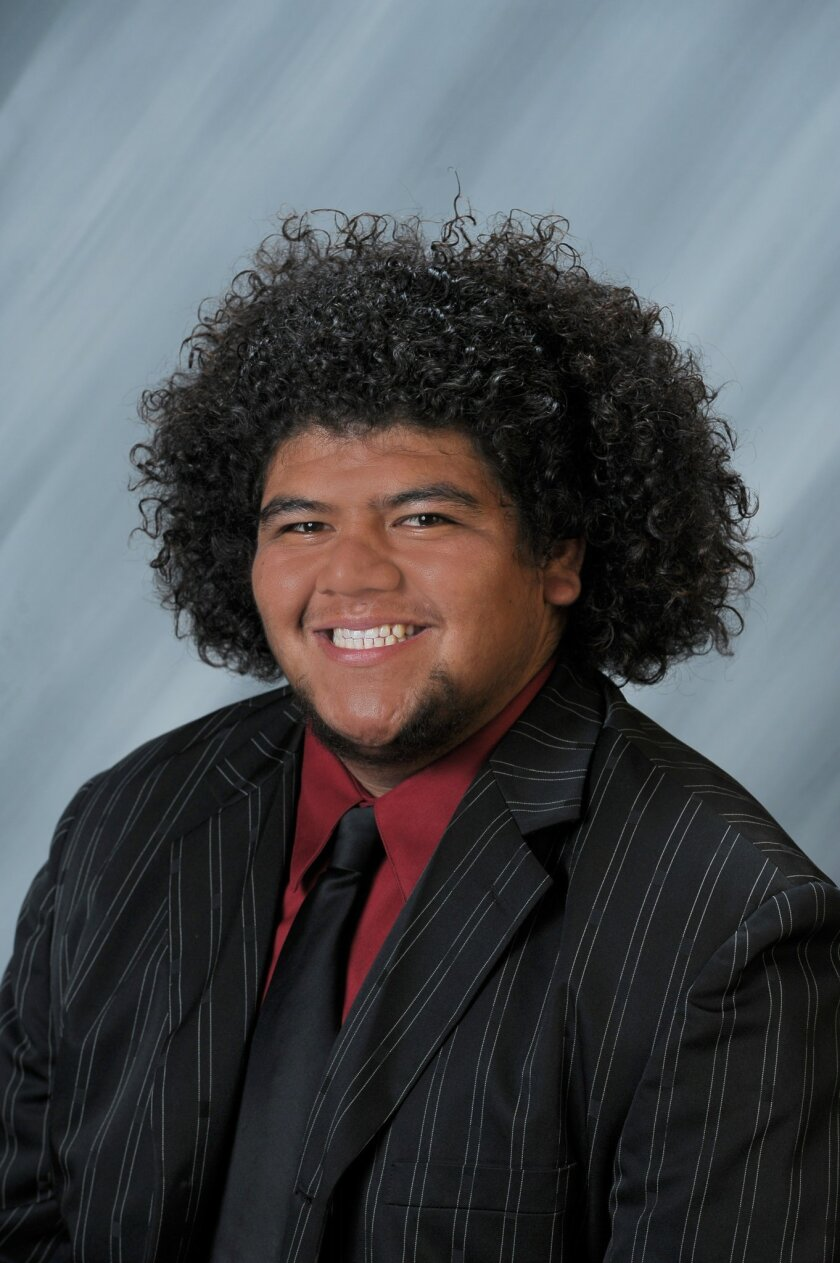 Anthony Vaeao pictured in his senior portrait. He would have graduated from Mission Hills High School on June 7.
