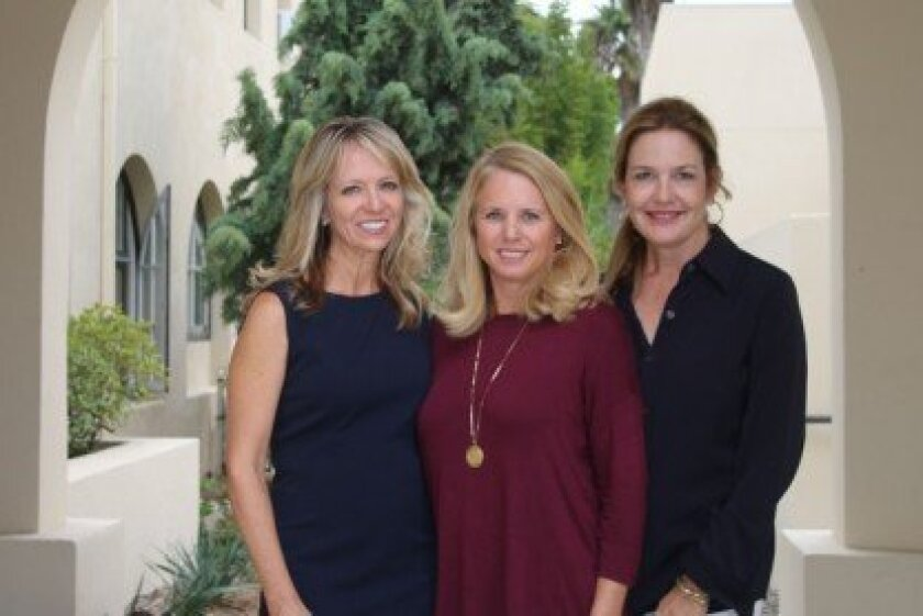 Vineyard Knights co-chairs Susan Piegza, Juliann Ford and Kathryn Hamon. Courtesy photo