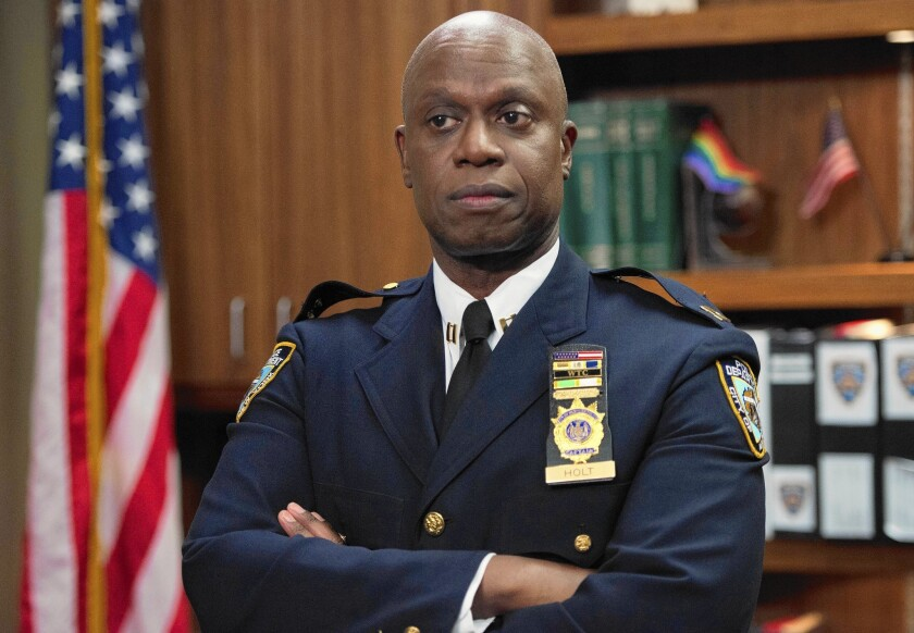 "Andre Braugher stars as Capt. Holt on ""Brooklyn Nine-Nine."""