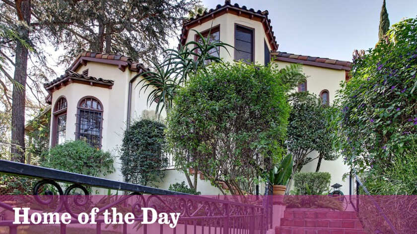 Home of the Day: Old Hollywood intrigue in Whitley Heights