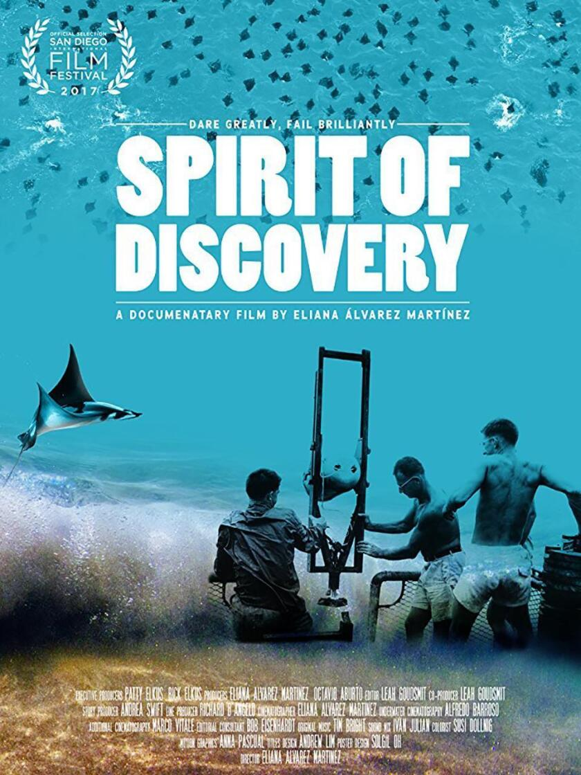 The 'Spirit of Discovery' documentary follows legendary oceanographer Walter Munk as he goes in search of a species of 'flying' devil fish that bears his name.