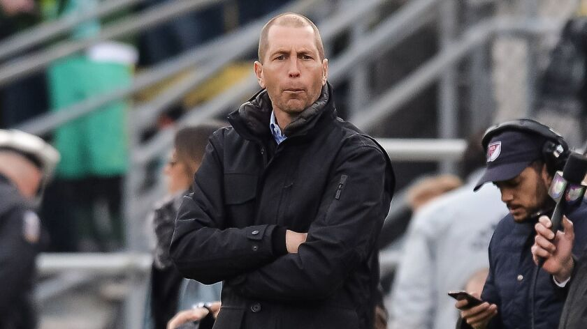 Gregg Berhalter is expected to finally be named the U.S. men's team coach this week.