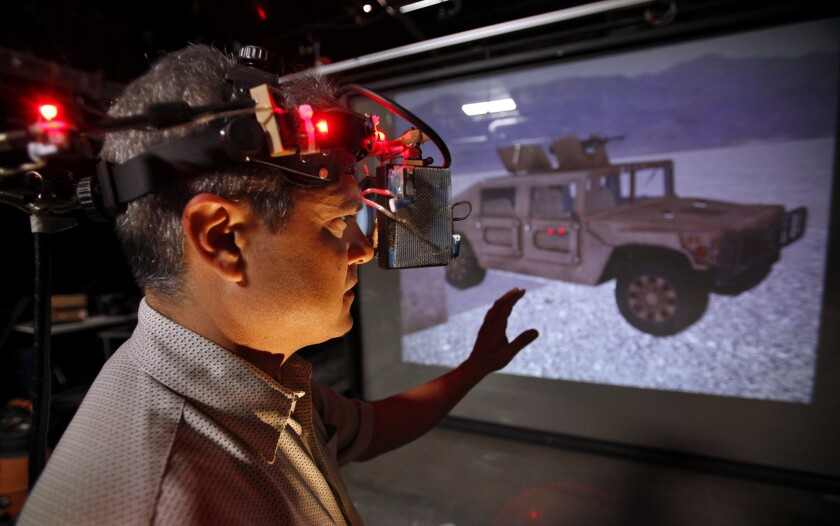 Army to station up to 70 researchers at USC's Institute for Creative Technologies