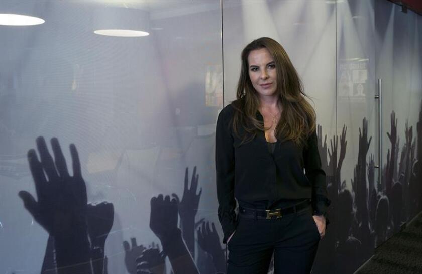 Fotografía de archivo de la actriz mexicana Kate del Castillo. EFE/Archivo