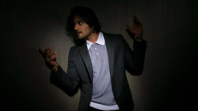 """Ali Fazal, who stars opposite Judi Dench in """"Victoria & Abdul."""" The 30-year-old Indian actor is a star in Bollywood, but this is his first major role in a Hollywood film. He is photographed at the Four Seasons Hotel."""