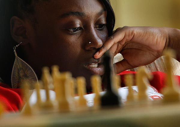Dyhemia Young, a 15-year-old from a rough part of San Francisco who has been in and out of foster care for three years, became a nationally rated chess player. See full story