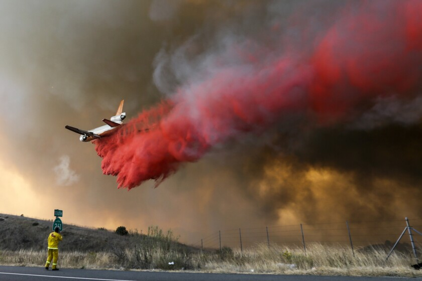 Canyon fire No. 2 in Anaheim Hills