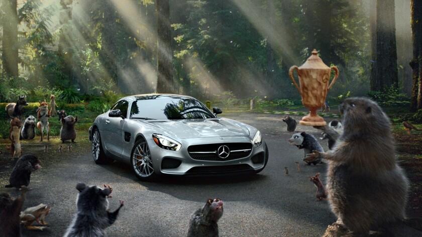 Mercedes-AMG GT Super Bowl ad