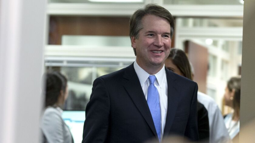 Supreme Court Nominee Brett Kavanaugh Meets With Senators On Capitol Hill