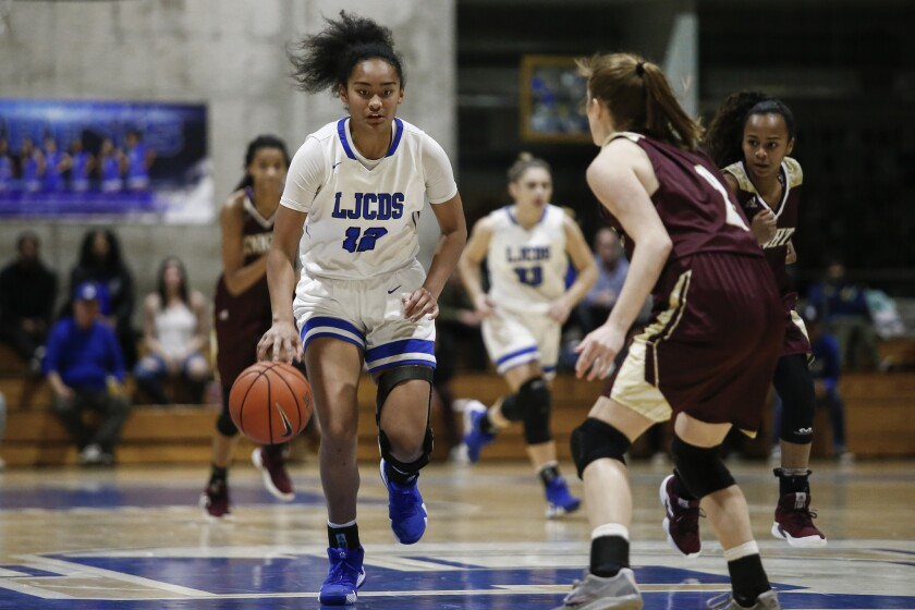 La Jolla Country Day point guard Te-hina Paopao