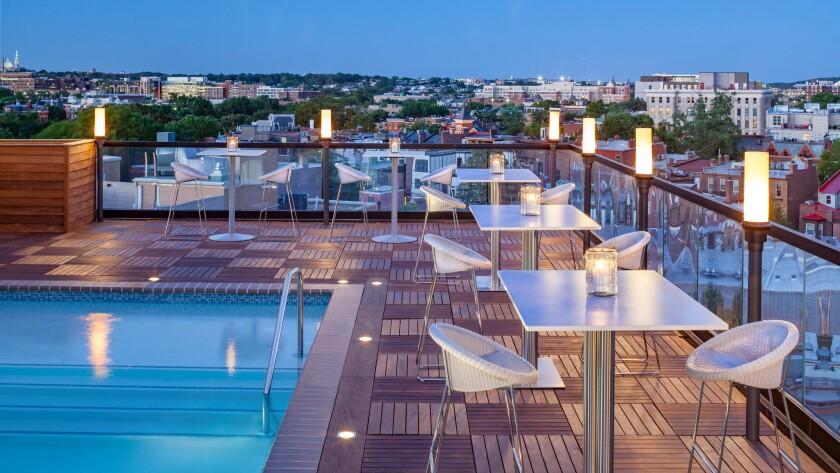 Rooftop at Kimpton Mason & Rook Hotel in Washington D.C.