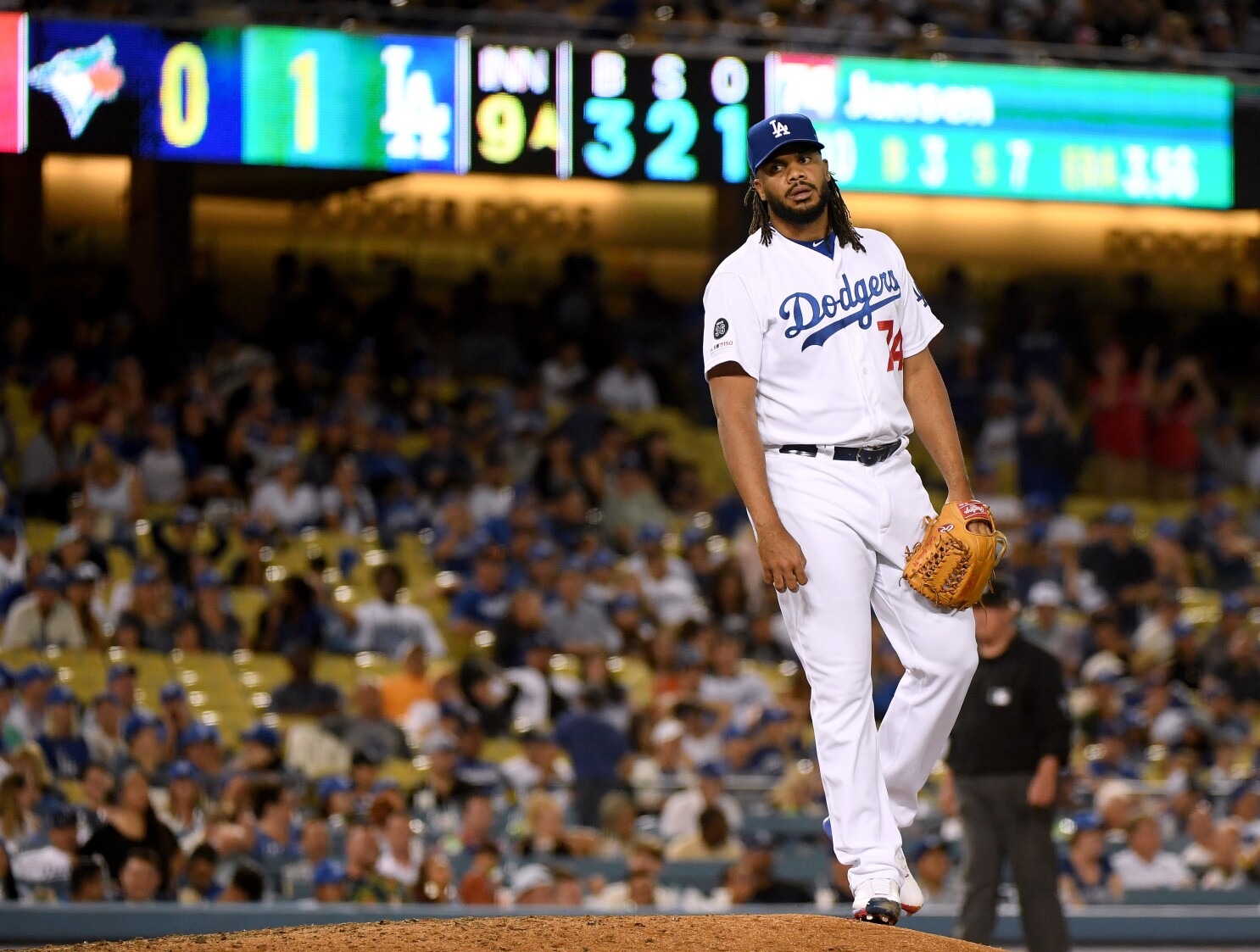 Can the Dodgers win a World Series with Kenley Jansen continuing to struggle as their closer?