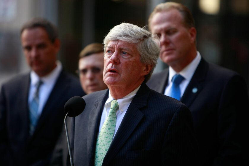 Chris Melvin, San Diego's lead stadium negotiator, was in New York City Tuesday speaking with NFL officials.