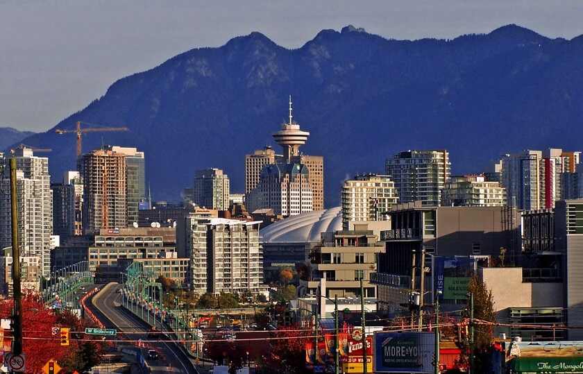 Vancouver, Canada: Great views, world-class libraries.