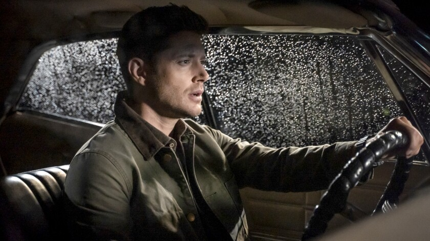 "Jensen Ackles in ""Supernatural"" on The CW."