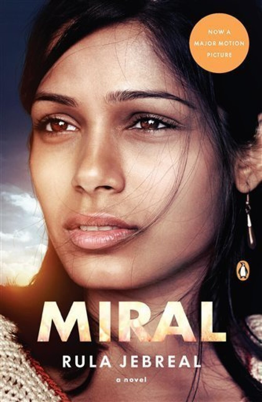 """In this book cover image released by Penguin, """"Miral"""" by Rula Jebreal, is shown. (AP Photo/Penguin)"""