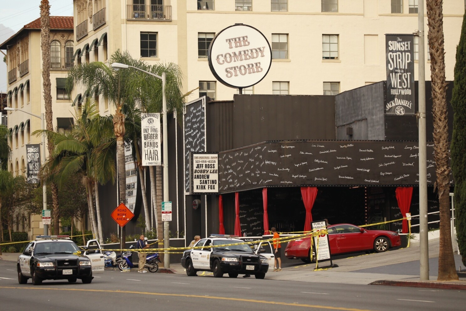 The Comedy Store closes for a night after shooting leaves one dead