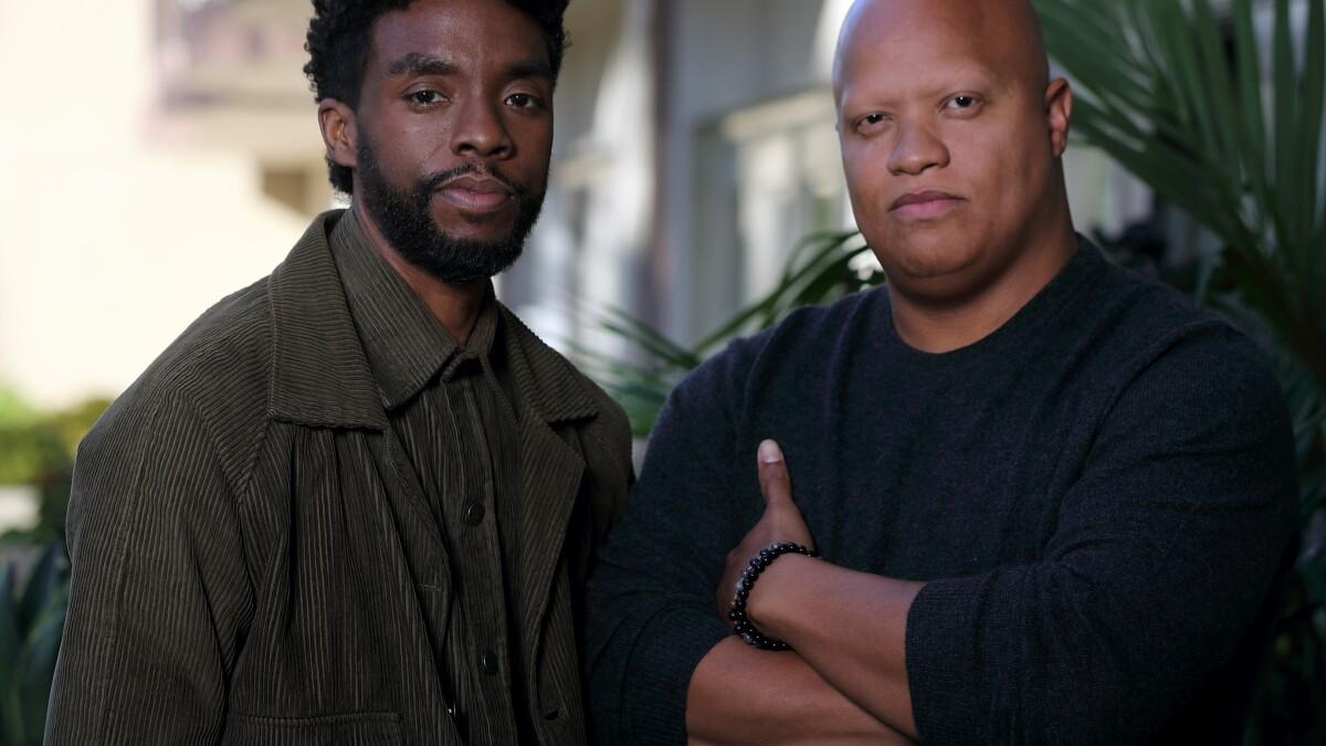 How Chadwick Boseman Made 21 Bridges Diverse Los Angeles Times