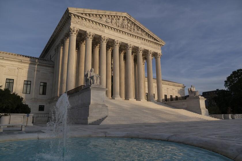 La Corte Suprema en Washington.