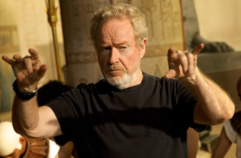 Director Ridley Scott will receive a lifetime achievement award from the Directors Guild of America in February.