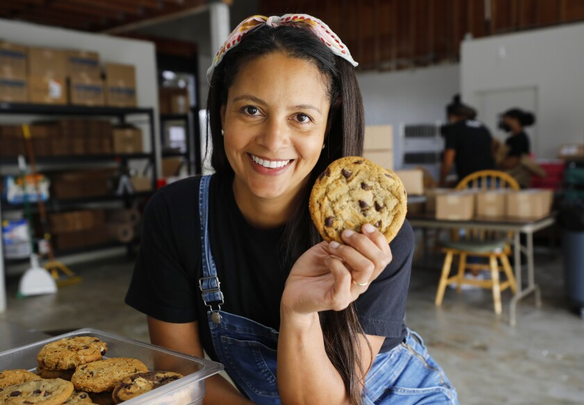 Maya Madsen, founder of Maya's Cookies