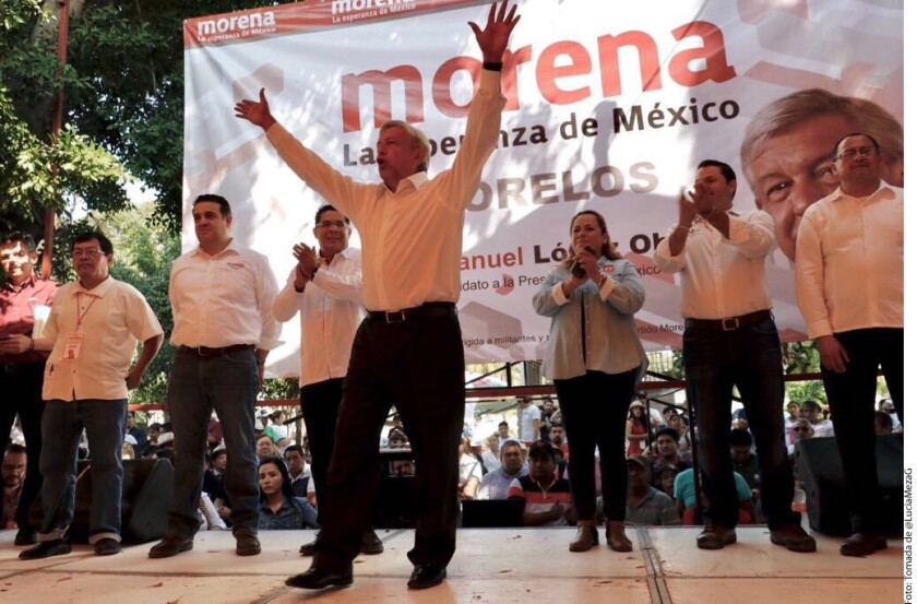 Andrés Manuel López Obrador afirmó que quiere estar entre los mejores Presidentes de la historia de México.
