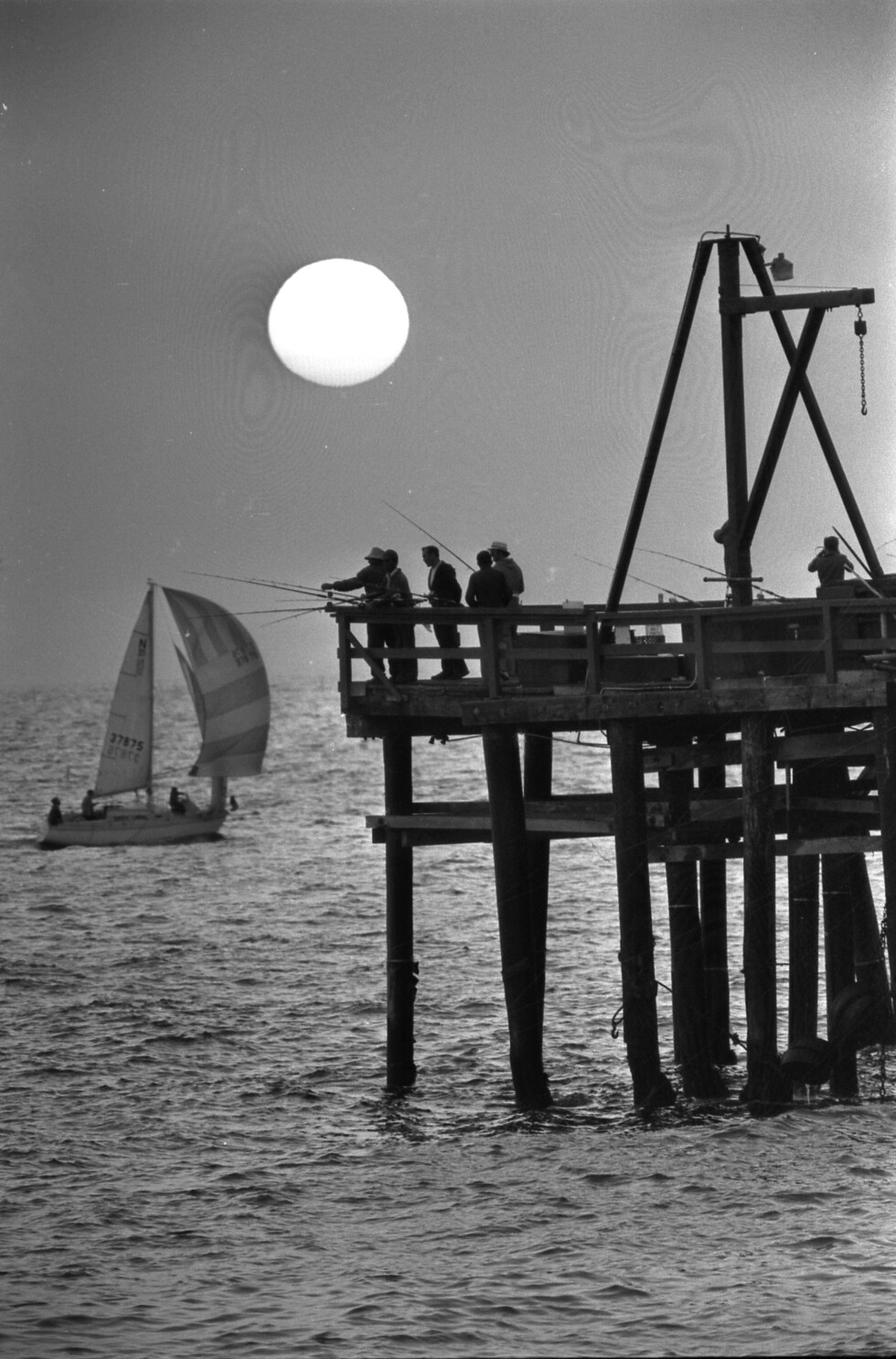 From the Archives: Sunset at Redondo Beach pier