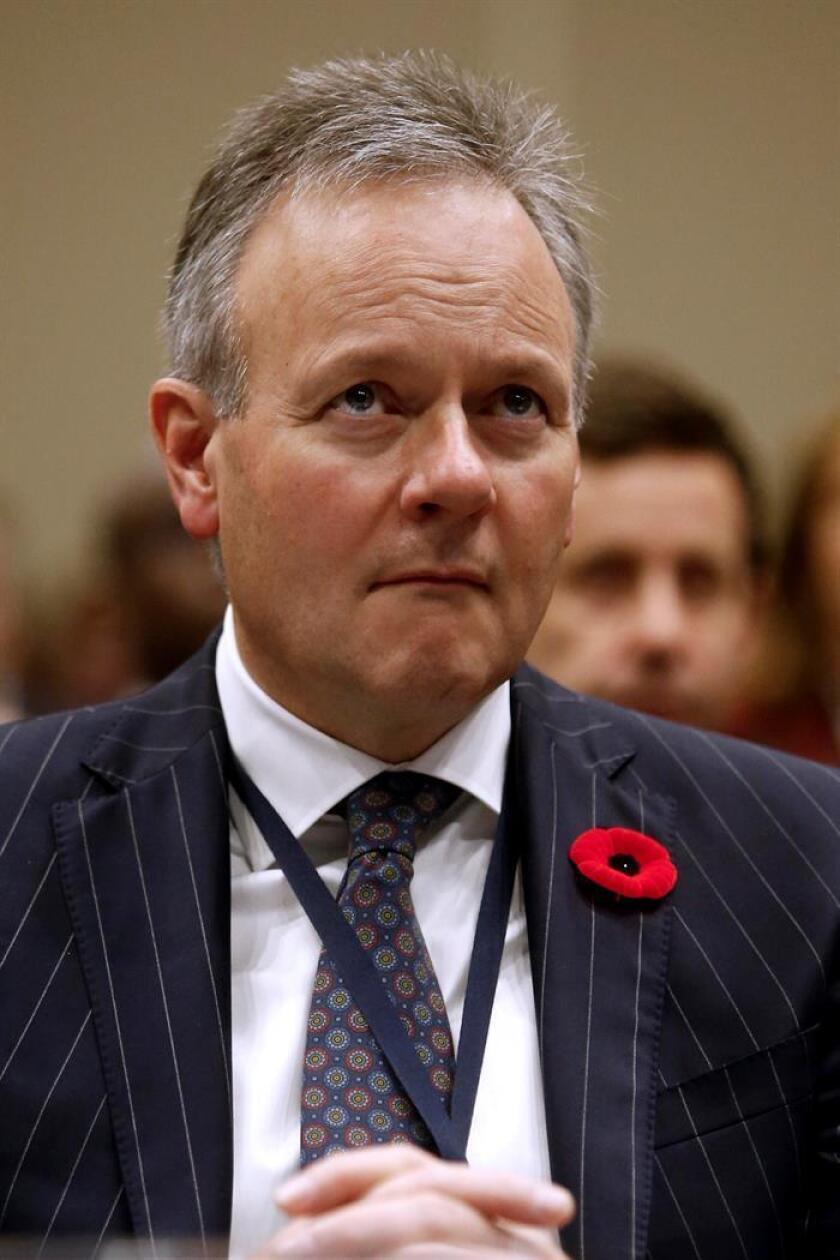 Fotografía de archivo del gobernador del Banco de Canadá, Stephen S. Poloz. EFE/Archivo