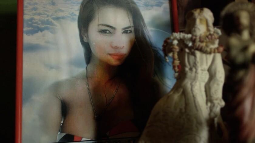 "A photo of the slain transgender woman Jennifer Laude in the moving documentary ""Call Her Ganda."""