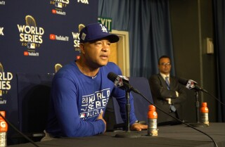 Dave Roberts on using information and watching pitchers