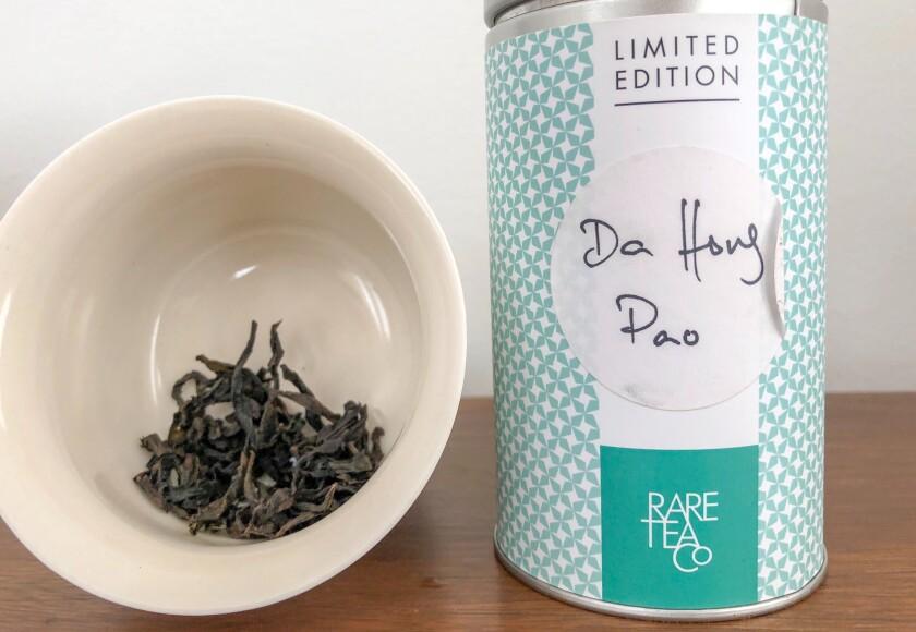 The last of the 2015 Da Hong Pao tea from Rare Tea Co.