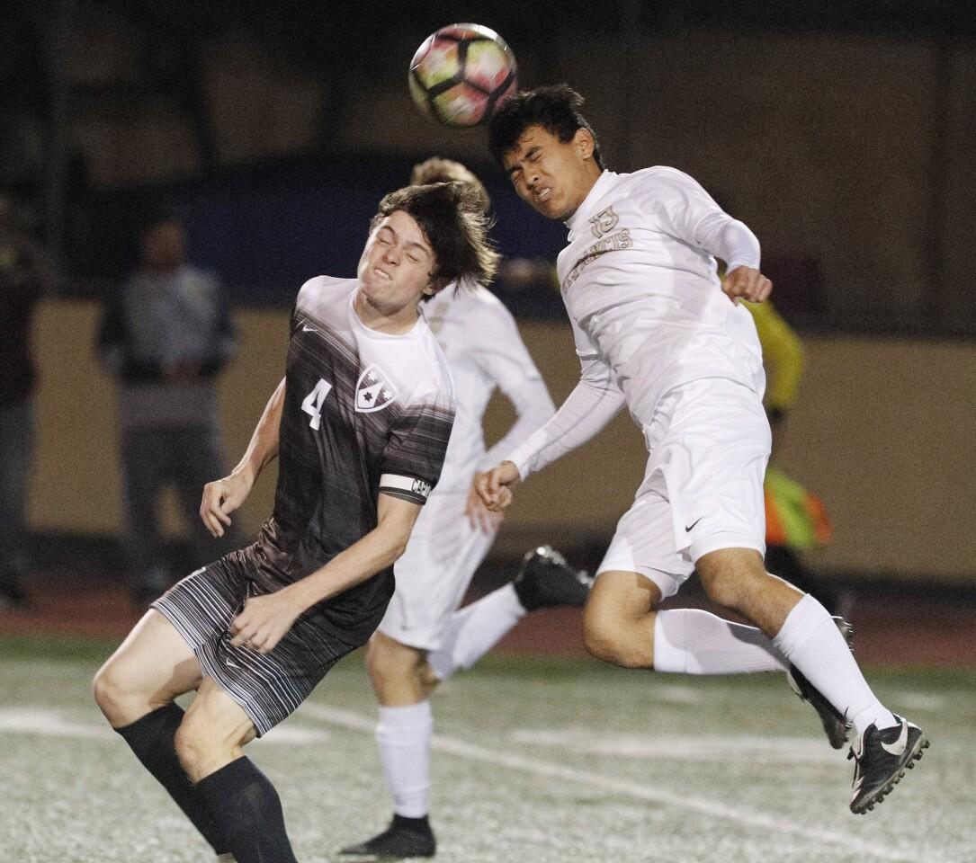 Photo Gallery: St. Francis vs. Crespi in boys soccer
