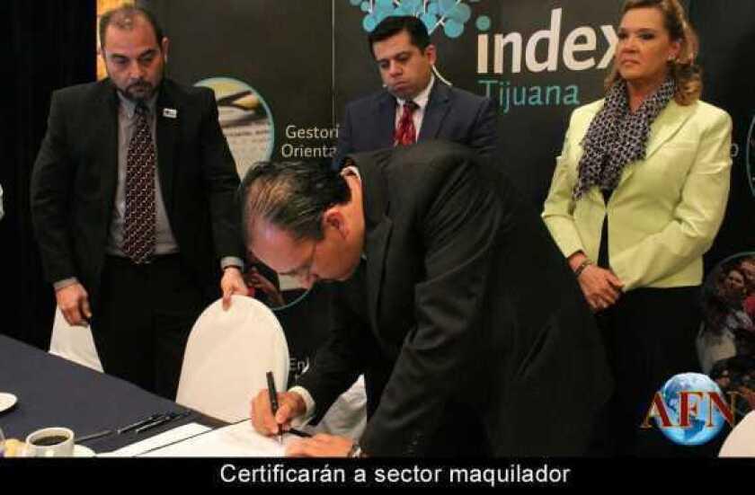 Certificarán a sector maquilador