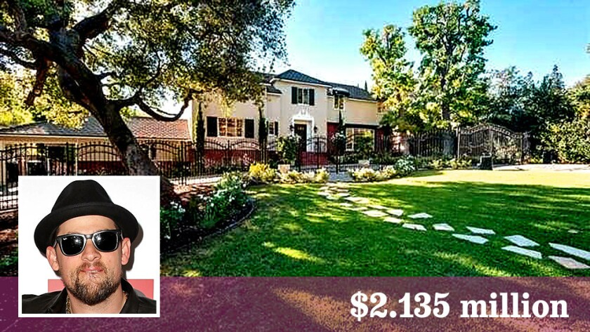 Benji Madden listed his Traditional-style home in Glendale for $2.135 million and got his asking price.